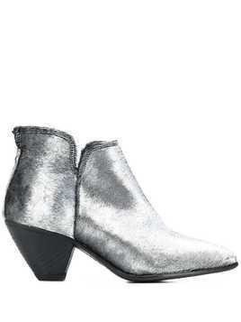 Fiorentini + Baker Mett ankle boots - SILVER