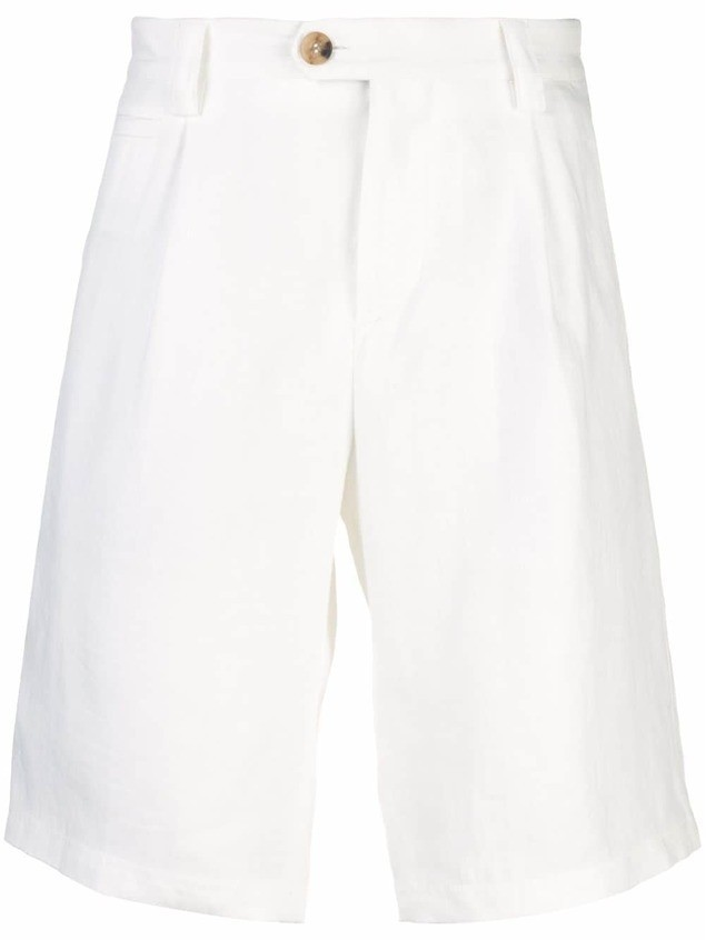 Brunello Cucinelli chino shorts - White