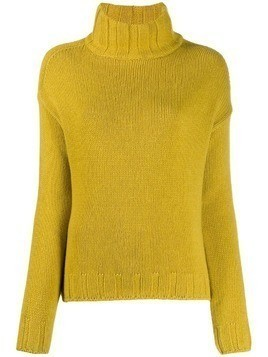 Aragona knitted cashmere jumper - Yellow