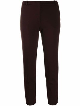 Pinko slim fit cropped trousers - Red