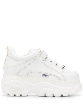 Buffalo platform sneakers - White