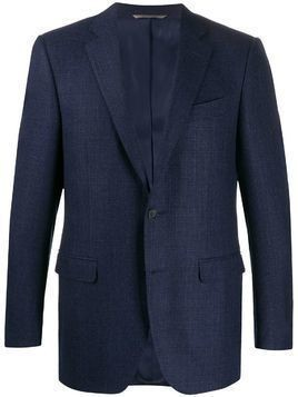 Canali tailored single-breasted blazer - Blue
