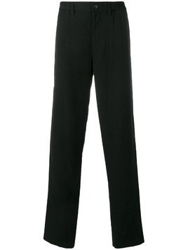 Issey Miyake Men relaxed-fit trousers - Black