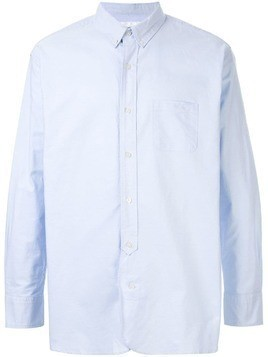 Makavelic printed button down shirt - Blue