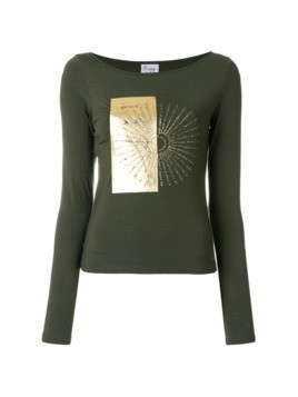 Moschino Vintage boat neck top - Green
