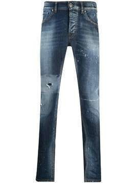 John Richmond Bermejot distressed skinny jeans - Blue