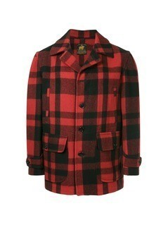 Fake Alpha Vintage Hunting coat - Red