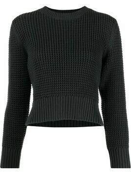 Rachel Comey chunky-knit cropped jumper - Grey