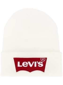Levi's basic beanie hat - White