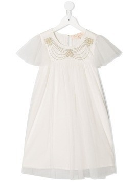 Tutu Du Monde Celestia embellished shift dress - White
