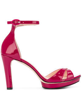 Repetto ankle strap platform sandals - PINK