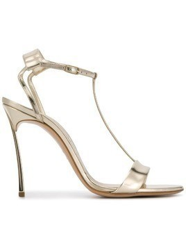 Casadei T-bar sandals - Gold