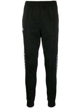 Kappa logo band track trousers - Black