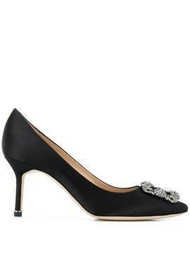 Manolo Blahnik Hangisi 70 pumps - Black