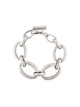 Ann Demeulemeester antique chain bracelet - Metallic