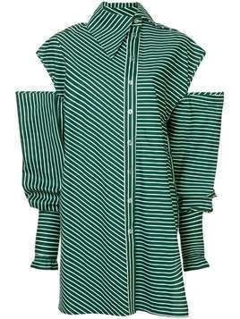 Anouki long cut out shirt - Green
