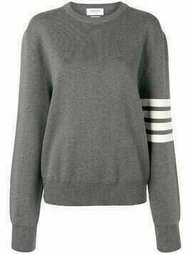 Thom Browne knitted jumper - Grey