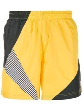 Reebok printed bermuda shorts - Yellow