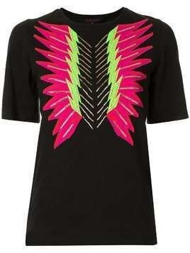 Manish Arora Flash Wave T-shirt - Black