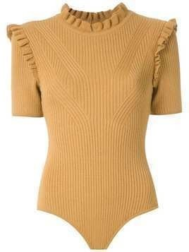 Nk Freddo Robert knitted bodysuit - Yellow