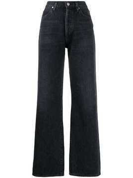 Citizens Of Humanity wide-leg high-rise jeans - Black