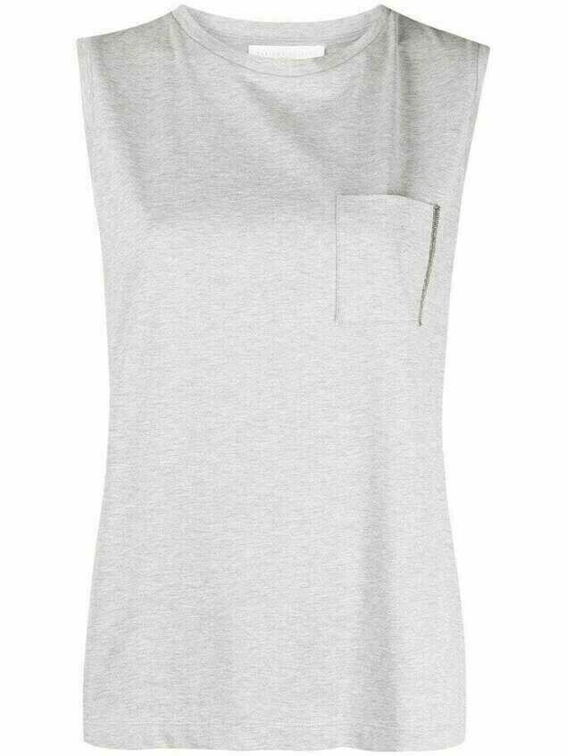 Fabiana Filippi mélange-effect T-shirt - Grey