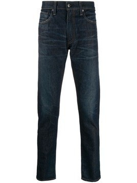 Levi's: Made & Crafted 512 slim-fit jeans - Blue