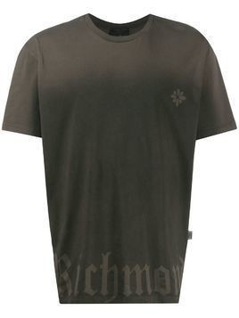 John Richmond Mitchely gradient T-shirt - Black