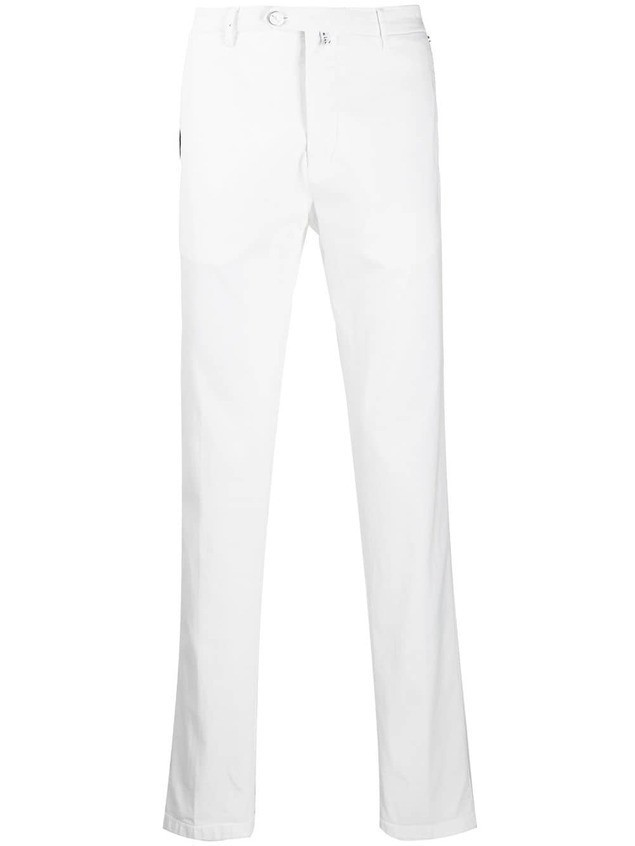Kiton chino trousers - White