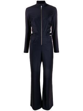 Carolina Ritzler zip front jumpsuit - Blue