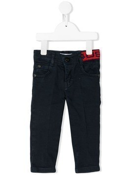Cesare Paciotti 4Us Kids straight leg jeans - Black