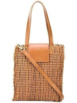 Henry Beguelin Mimosa tote bag - Brown