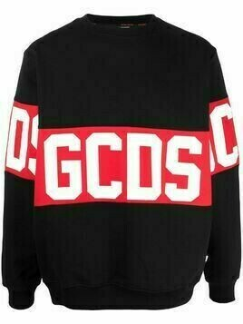 Gcds Large logo print jumper - Black