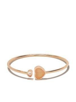 Chopard x 007 18kt rose gold Happy Hearts - Golden Hearts diamond bangle
