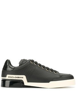 Dolce & Gabbana Portofino low-top sneakers - Black