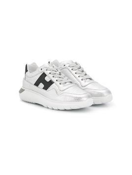 Hogan Kids Interactive sneakers - Silver