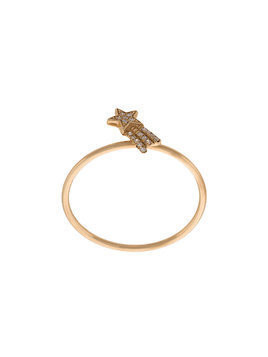 Loquet Shooting Star ring - Yellow