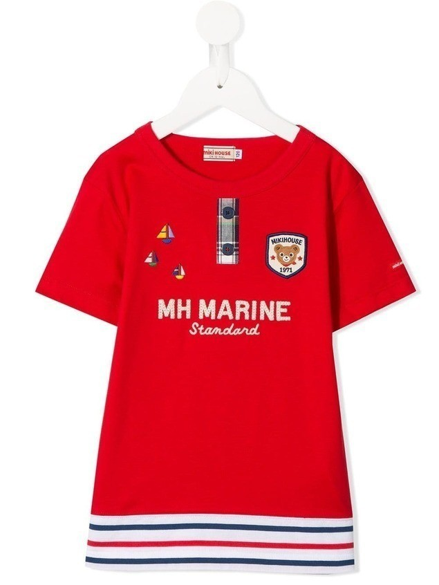 Miki House Marine T-shirt - Red