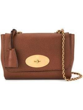Mulberry Medium Lily Natural Grain Leather bag - Brown