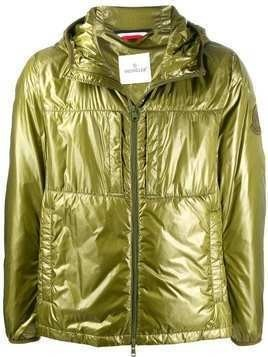 Moncler Sawyer padded zip-front jacket - Green