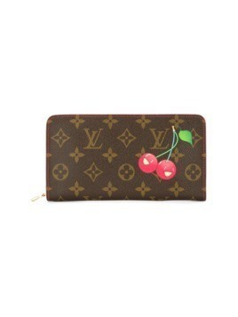 Louis Vuitton Vintage zip wallet Takashi Murakami monogram cherry - Brown