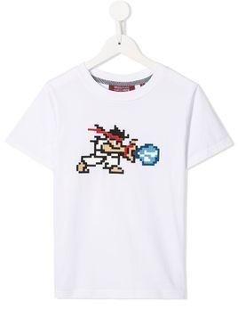 Mostly Heard Rarely Seen 8-Bit Tiny White Warrior T-shirt