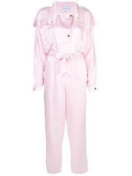 Carolina Ritzler satin jumpsuit - PINK