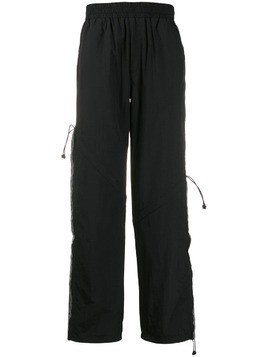 C2h4 elasticated waist trousers - Black