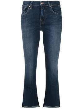 7 For All Mankind mid-rise flared jeans - Blue