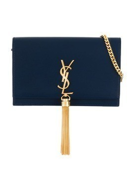 Saint Laurent Kate chain wallet - Blue