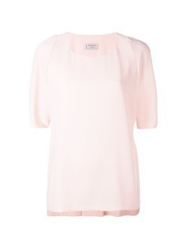 Alberto Biani rear pleat blouse - Pink
