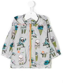 Stella Mccartney Kids Jax Colour Changing parka - Grey