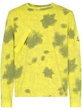 CP Company patterned long sleeve T-shirt - Yellow