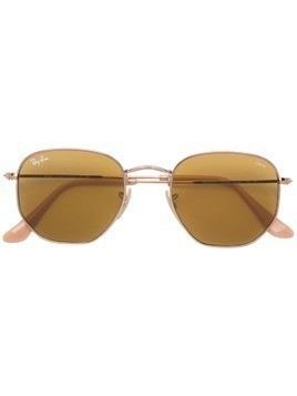 Ray-Ban hexagonal metal sunglasses - Gold